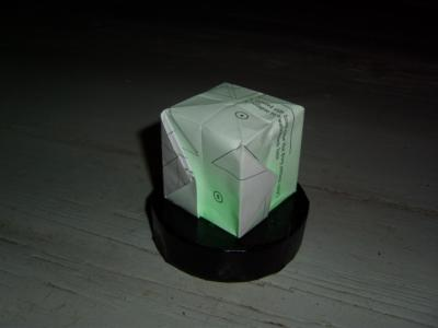 Origami Colorchanging Cube